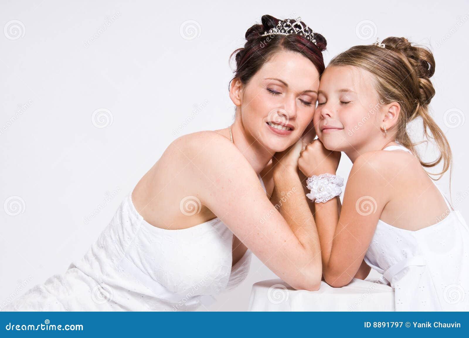 Weiße Braut