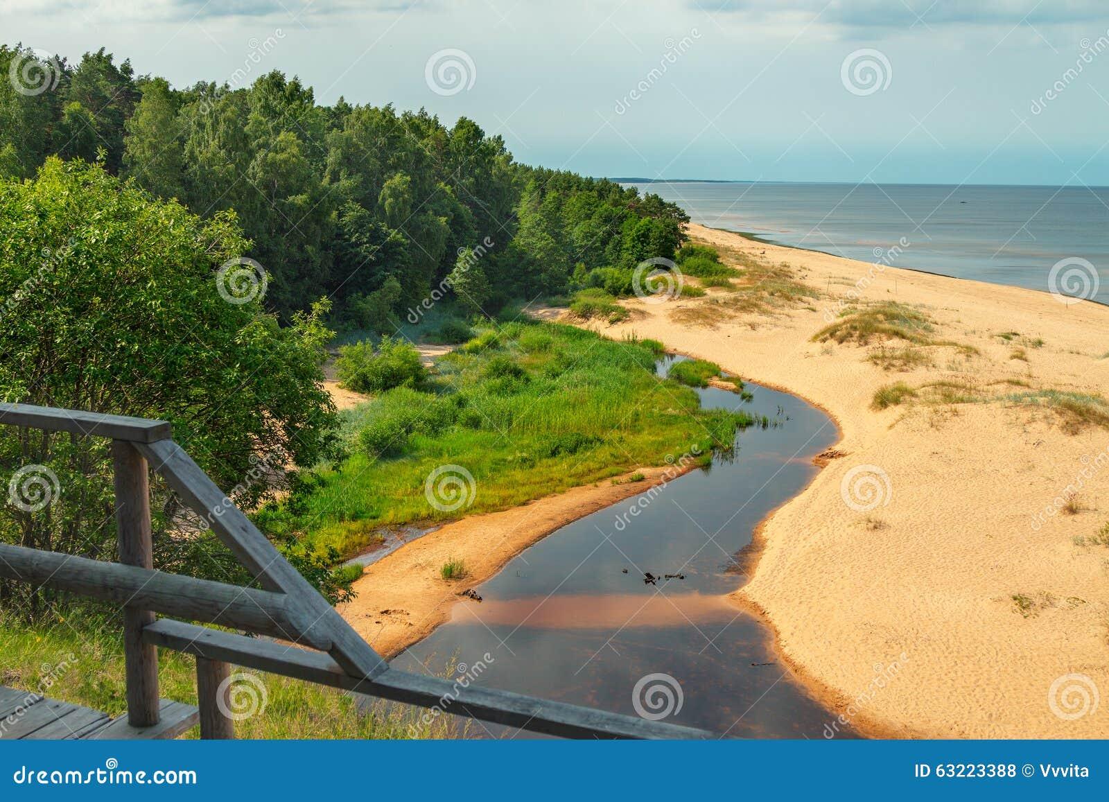 Weiße Düne, Lettland