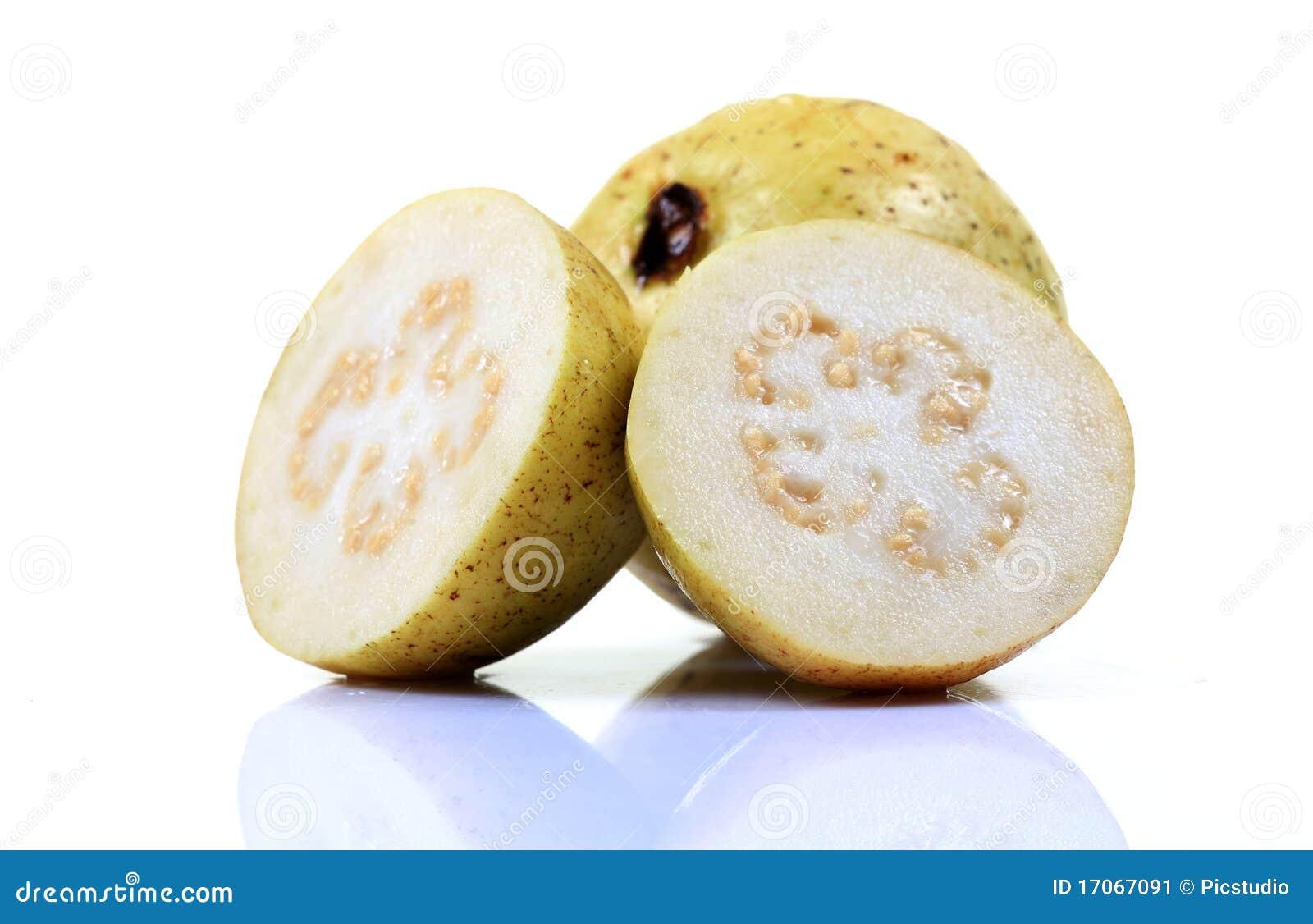 Weiße Guajava-Frucht
