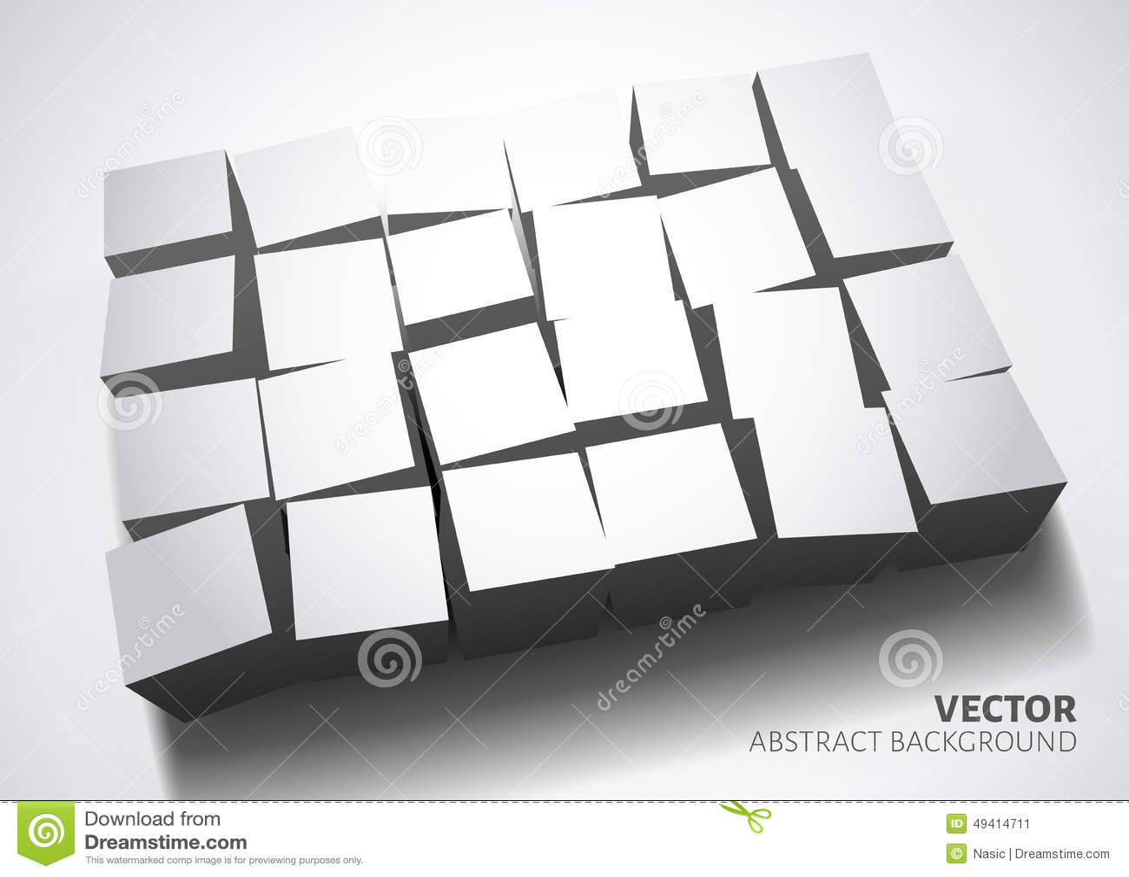 Download Weiße Hintergrundschablone vektor abbildung. Illustration von schwarzes - 49414711
