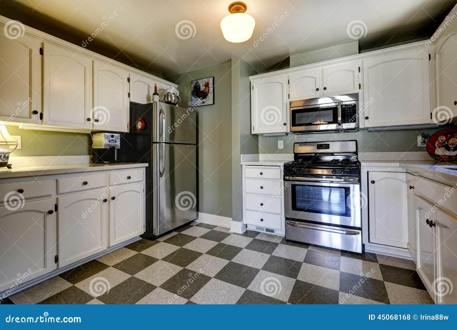 Charmant Cremefarbenen Küchenschränke Mit Schwarzen Geräten Bilder ...
