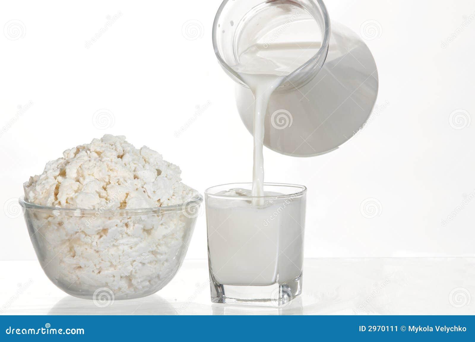 Weiße Nahrung