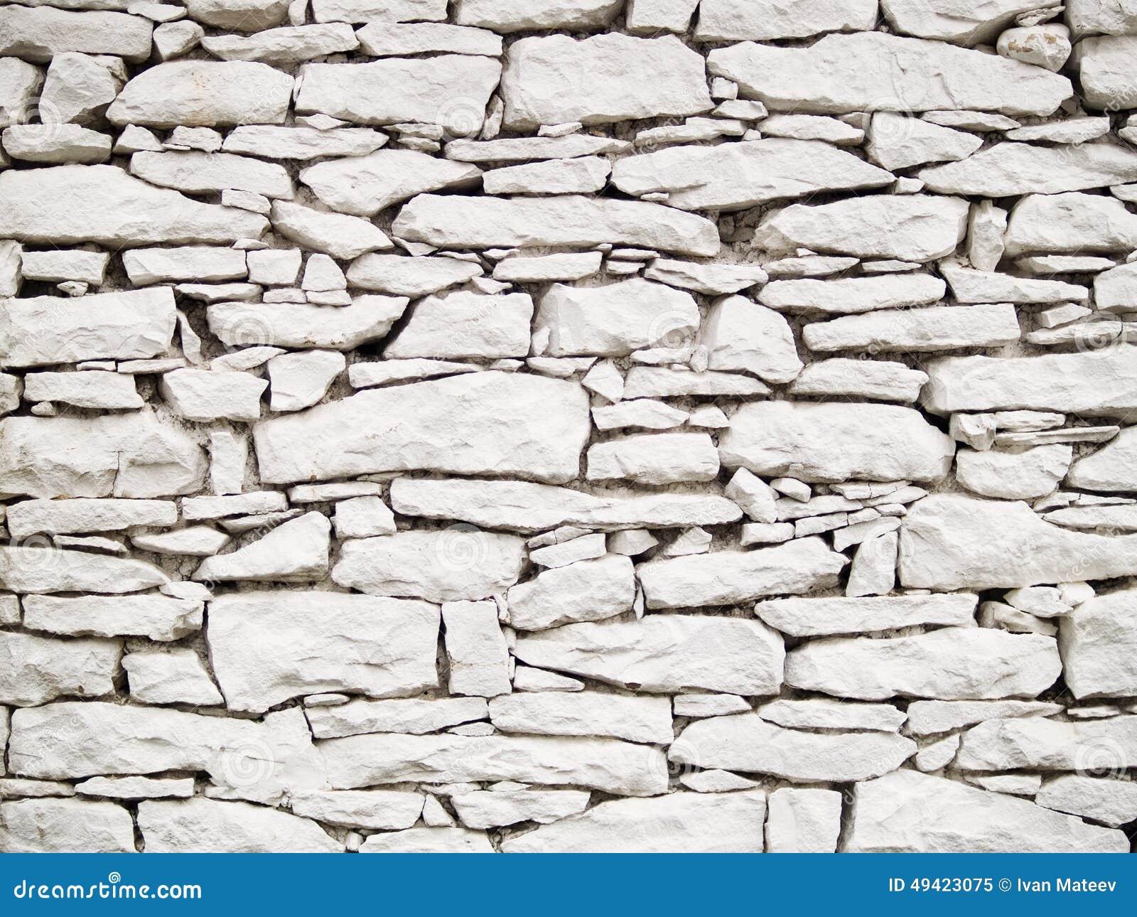 Weiße Steinwand weiße steinwand stockbild. bild von stein, hintergrund - 49423075