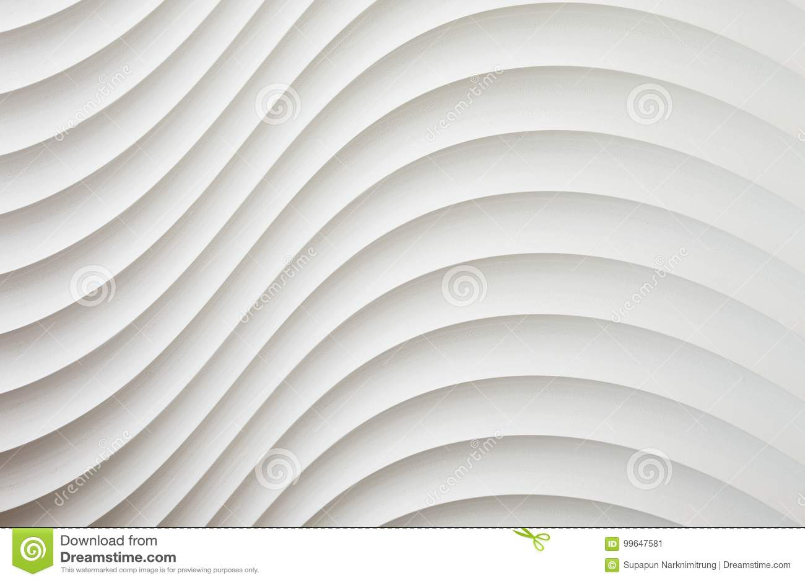 Weiße Wandbeschaffenheit, abstraktes Muster, bewegen gewellten modernen, geometrischen Deckungsschichthintergrund wellenartig