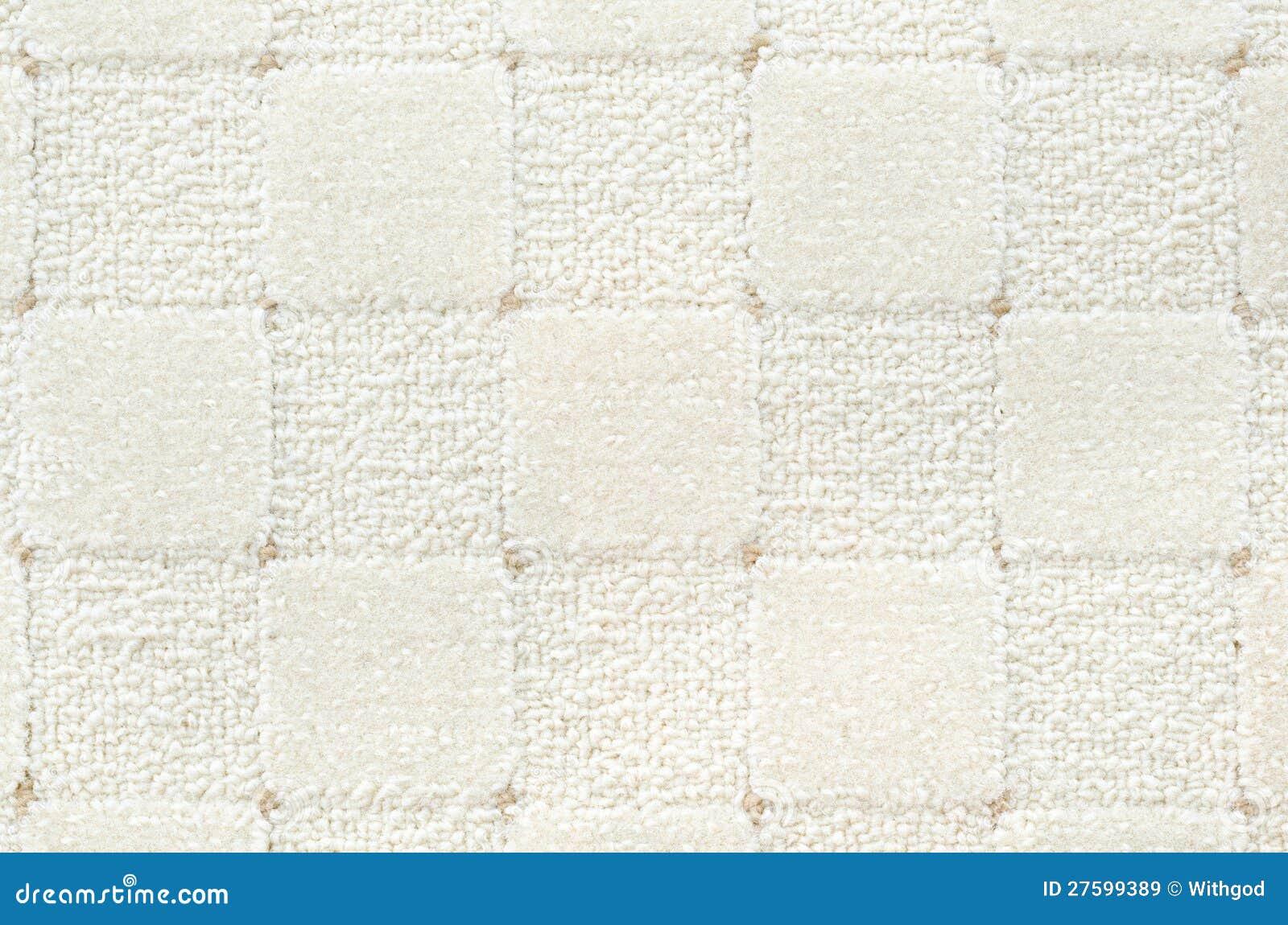 Weißer teppich  Weißer überprüfter Teppich Lizenzfreie Stockbilder - Bild: 27599389