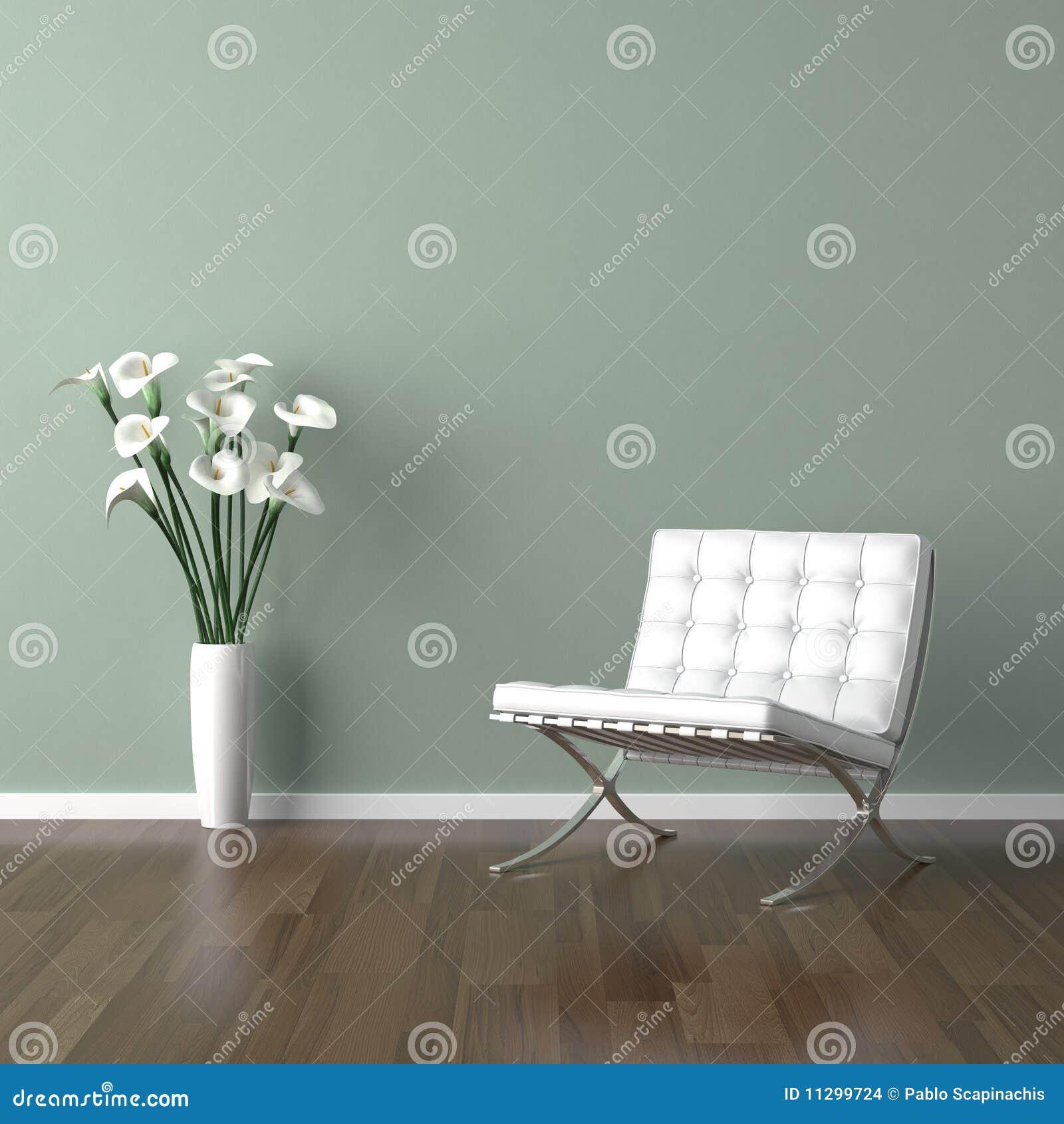 Grün Weißer Stuhl Abbildung Von Barcelona Stock Auf Illustration WEHIY9D2