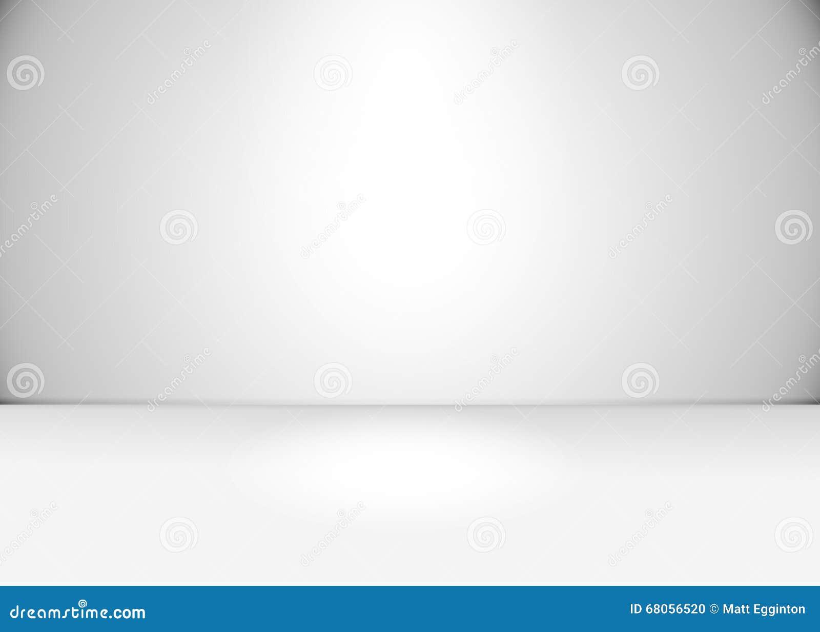 wei er grauer raum leer stock abbildung bild 68056520. Black Bedroom Furniture Sets. Home Design Ideas