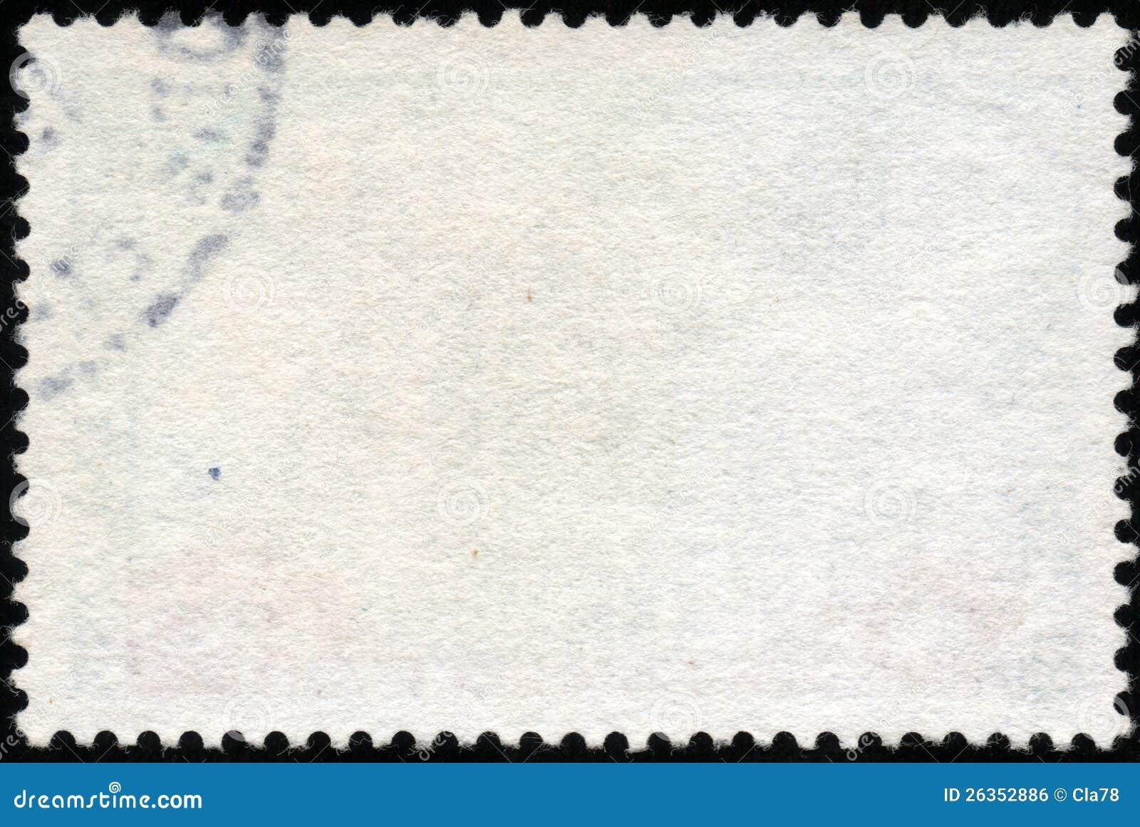 Weißer horizontaler Stempel