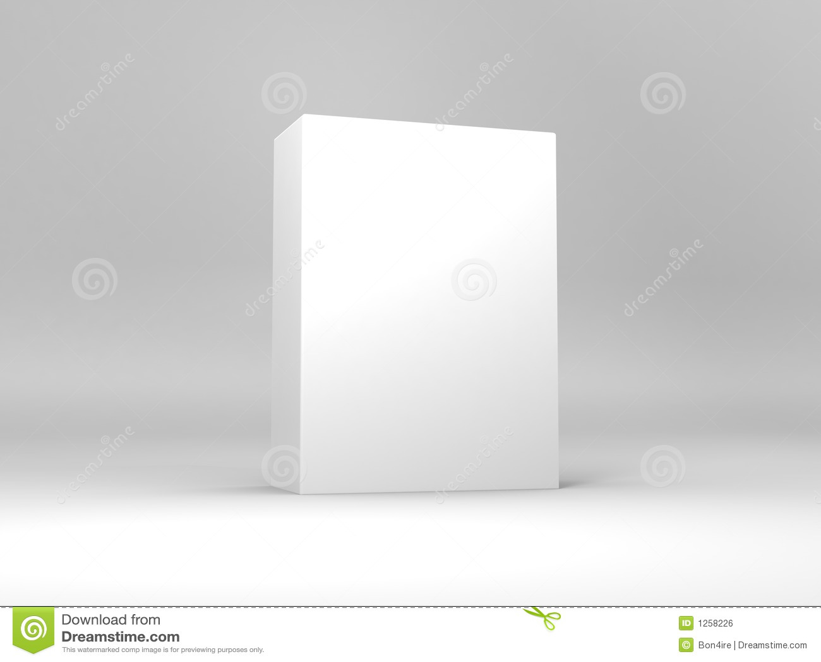 Weißer Kasten