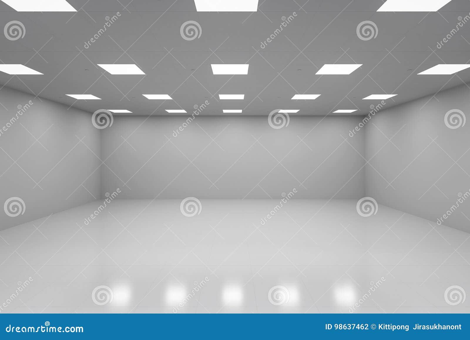 Weißer leerer Raum