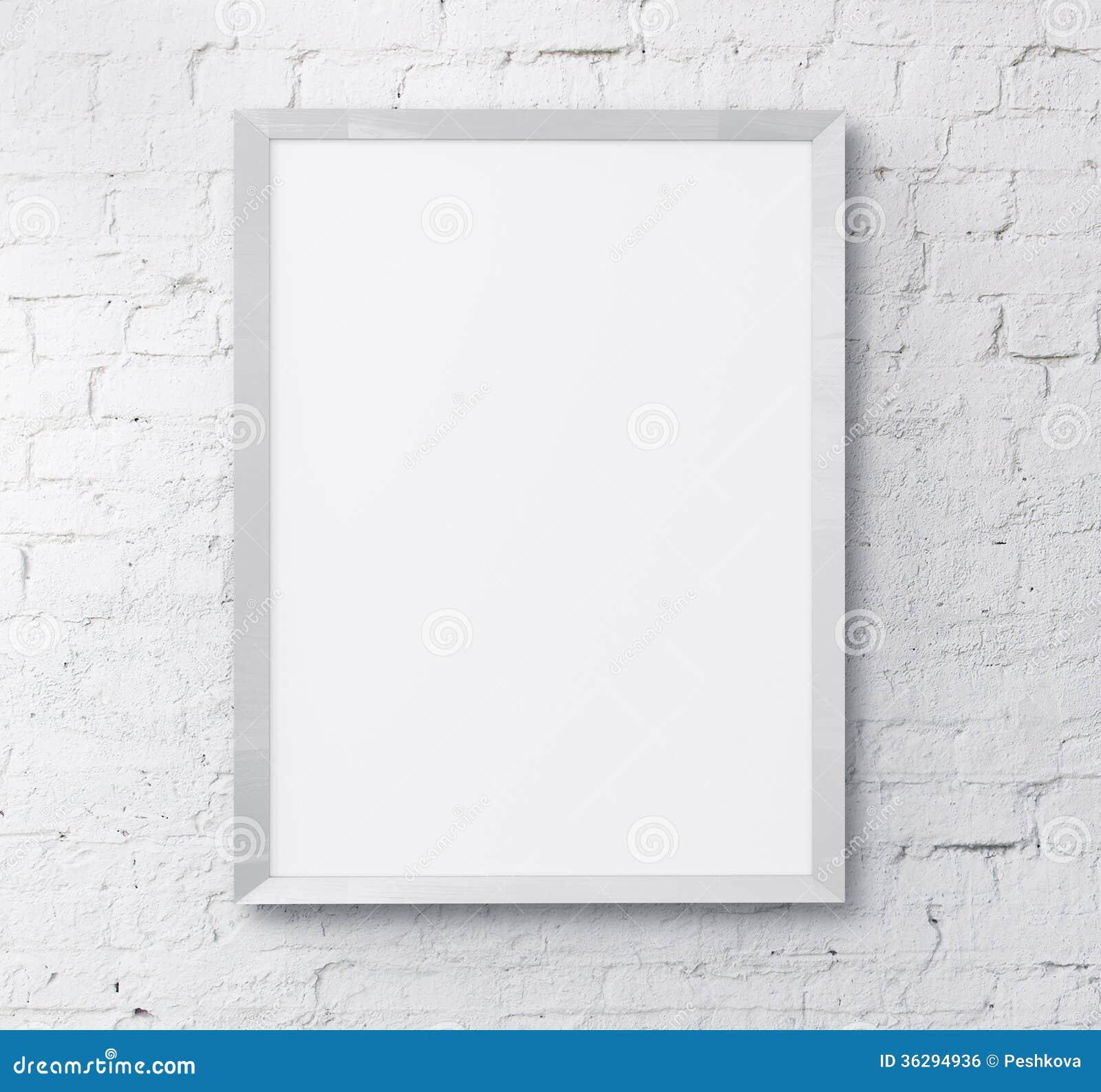 Weißer Rahmen