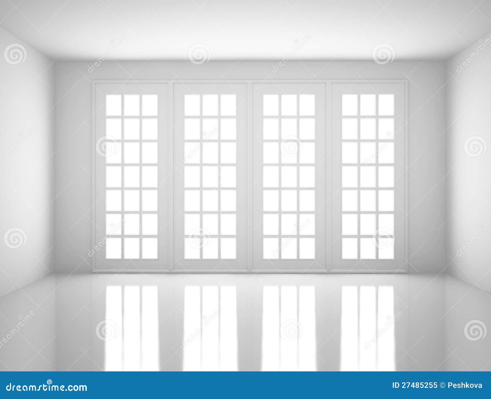wei er raum lizenzfreies stockfoto bild 27485255. Black Bedroom Furniture Sets. Home Design Ideas