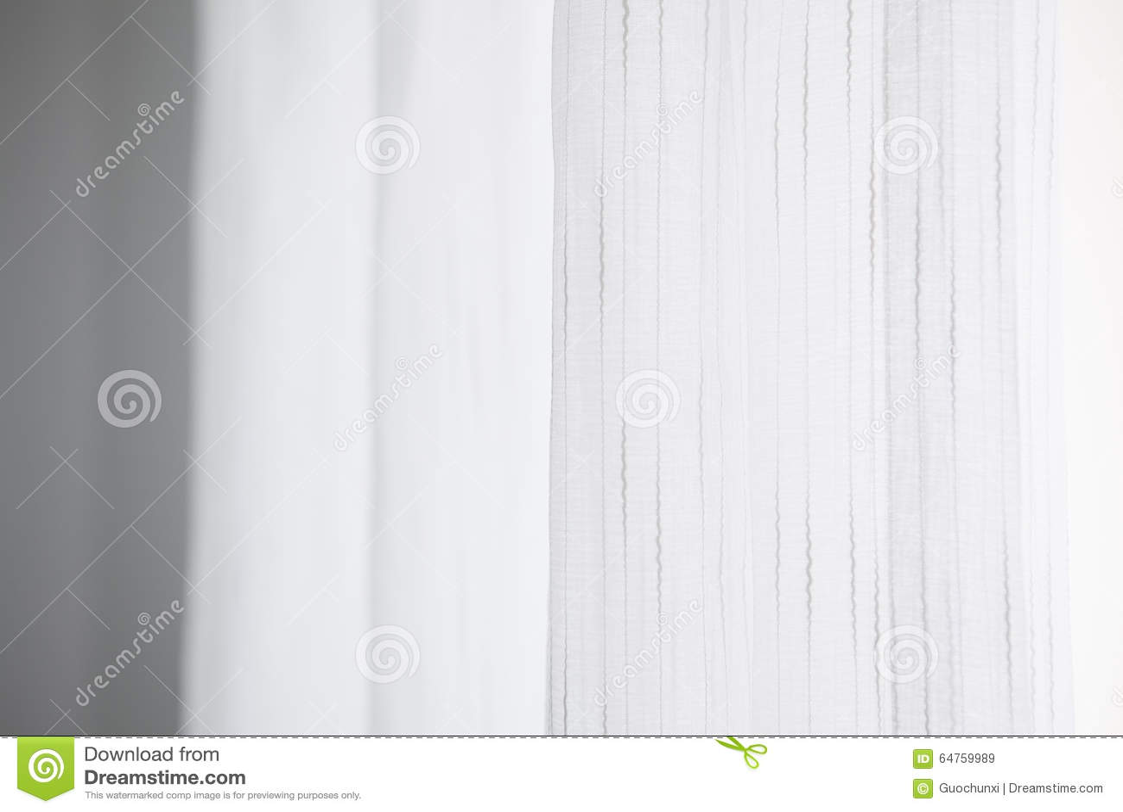 Weißer Vorhang Mit Linie Beschaffenheiten Stockbild Bild Von