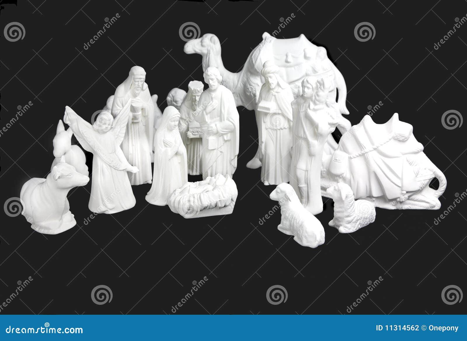 Weißes Geburt Christi