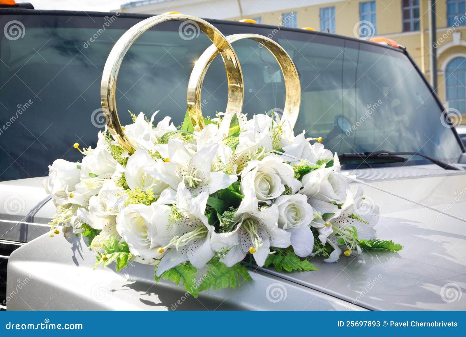 Hochzeitsauto Mit Blumen Stock Images 330 Photos