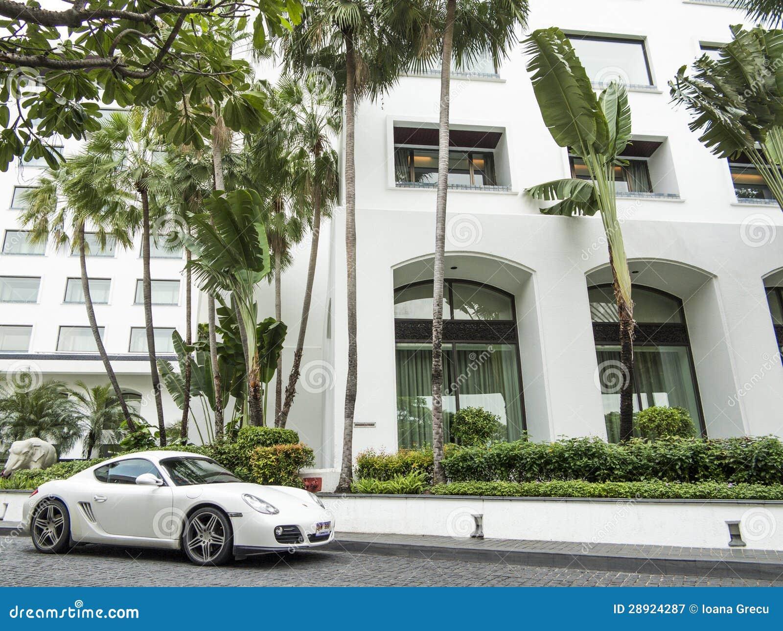 Weißes Porsche