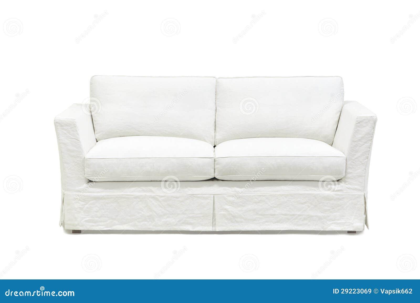 Weisses Sofa weißes sofa stockbild bild zwei weiß furnish trainer 29223069