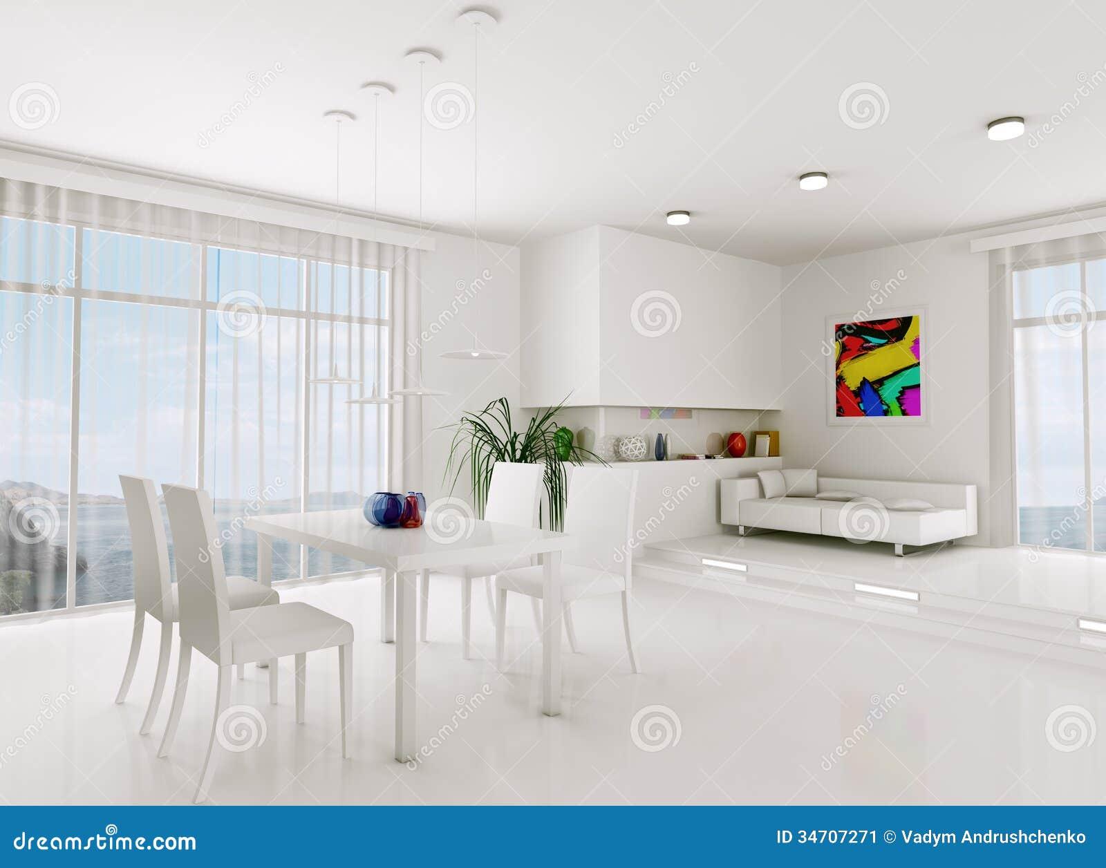 Astounding Weißes Wohnzimmer Galerie Von Weißes 3d übertragen