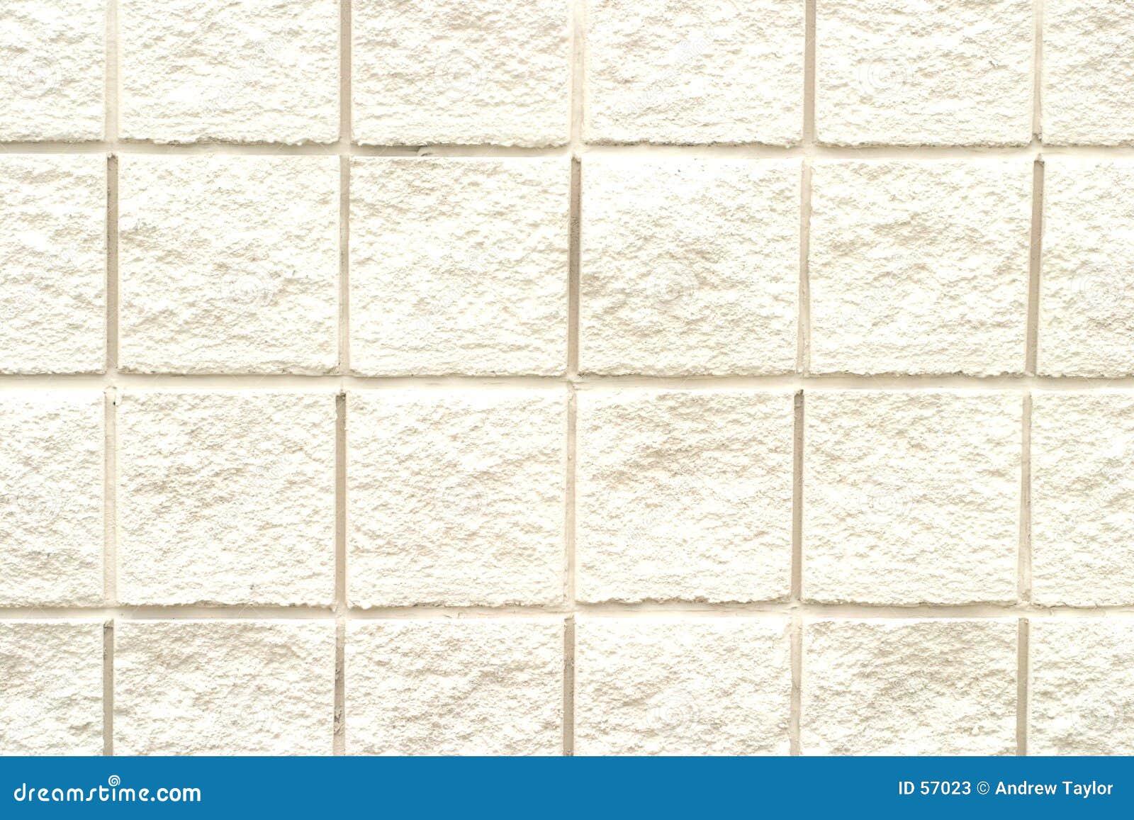 Weißes Ziegelstein-Muster