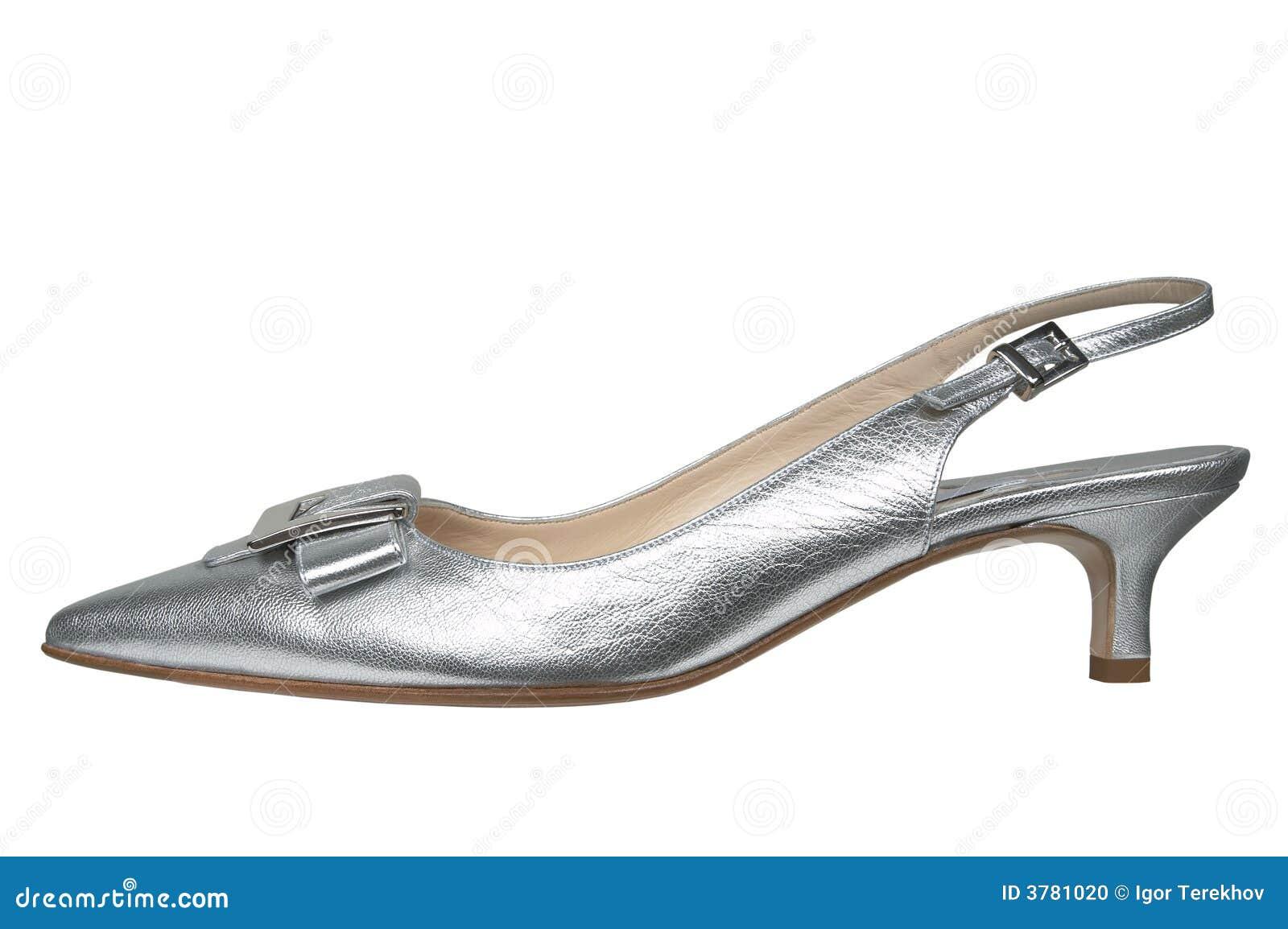 ac029b275d4c6a Weibliche silberne Schuhe stockfoto. Bild von sensuality - 3781020