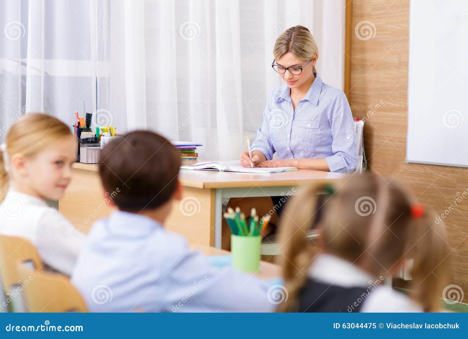 Lehrer von ihren Schülern