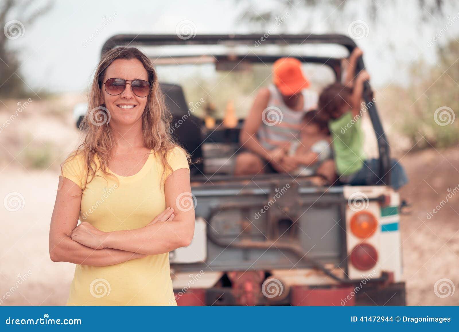 Weiblicher Tourist
