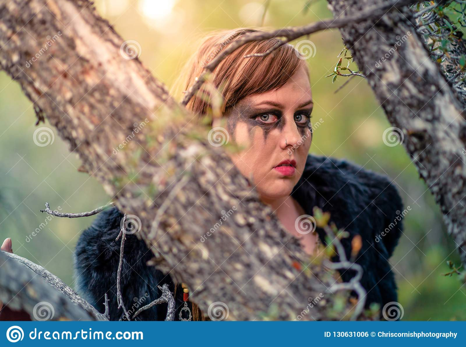 Weiblicher Viking Character