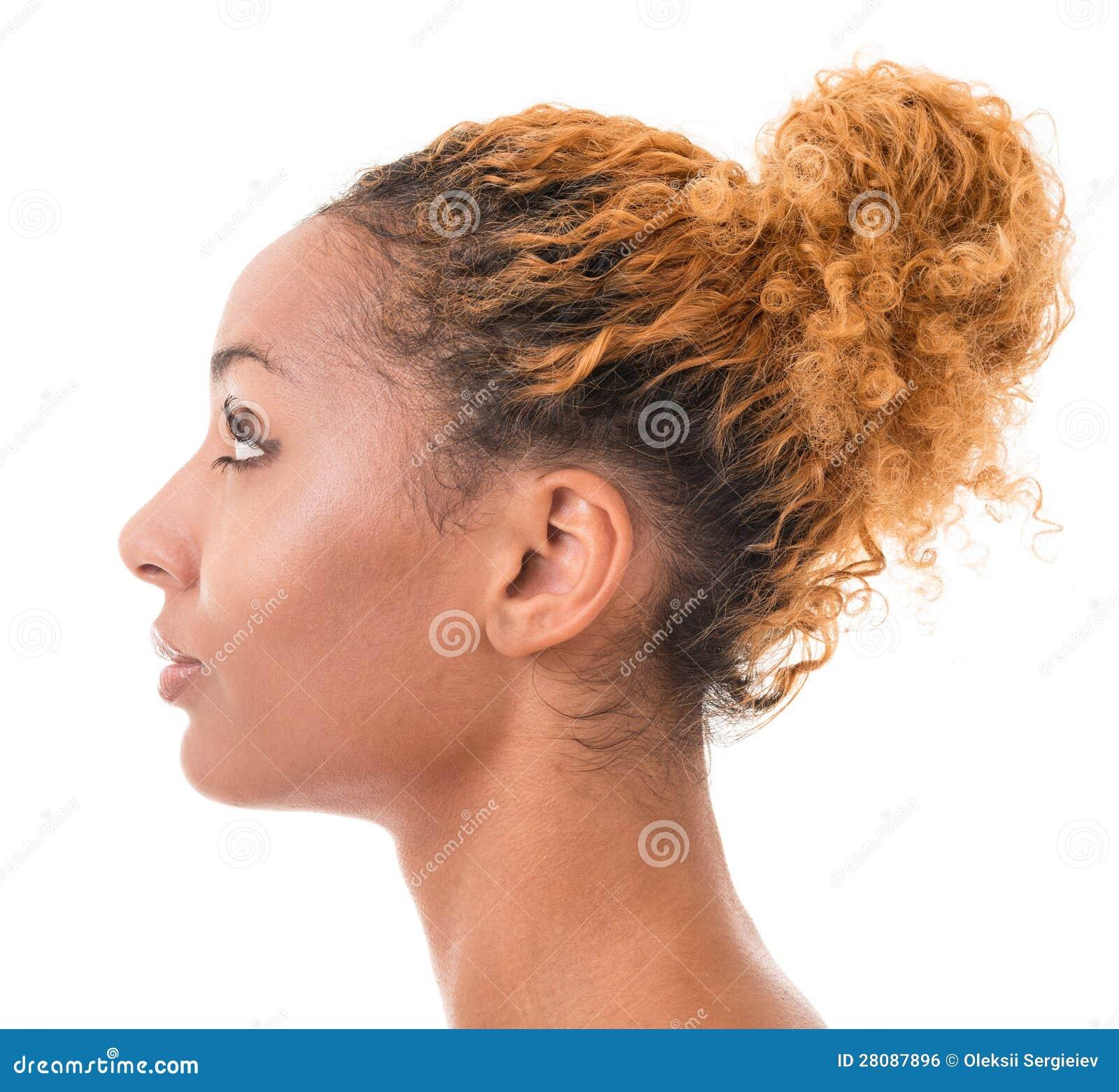 Weibliches Profil