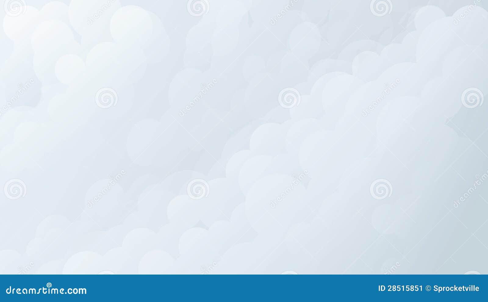 Weiche Wolken