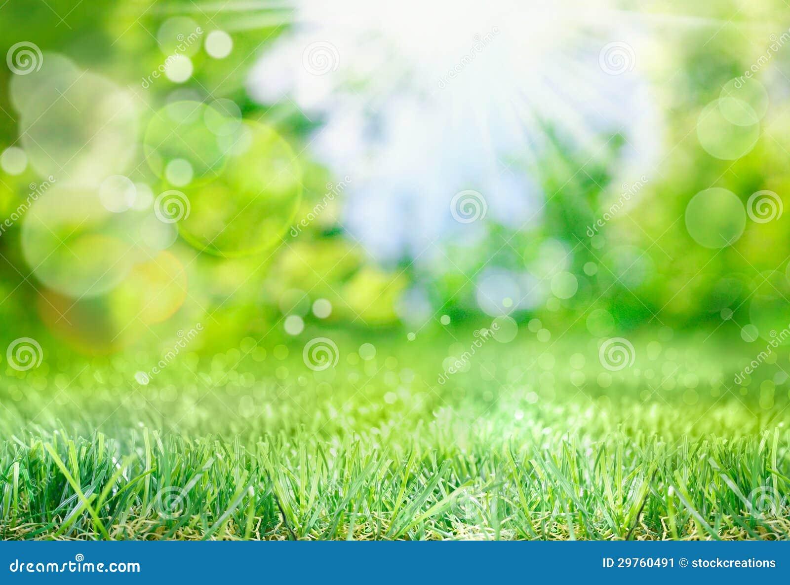 Weicher Frühlingshintergrund mit bokeh