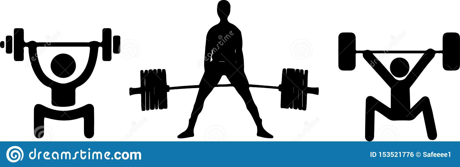 Kettlebell lifting stock photo. Image of person