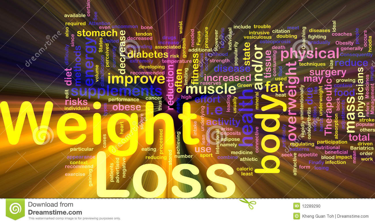 Weight Loss Background Concept Glowing Stock Photo - Image ...