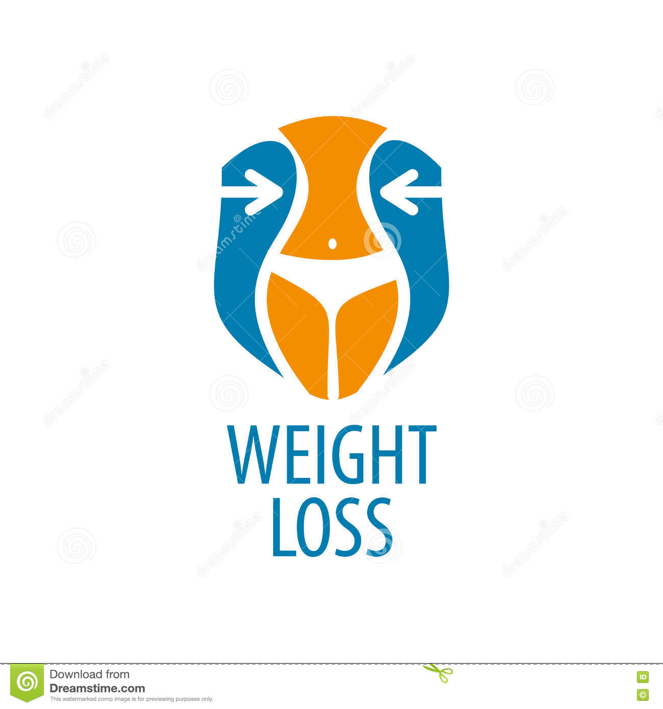 weight loss logo stock vector illustration of lifestyle 80667555