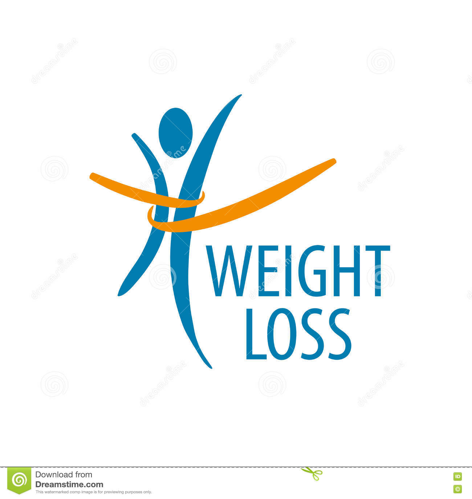 weight loss logo stock vector illustration of diet kilogram 80667969