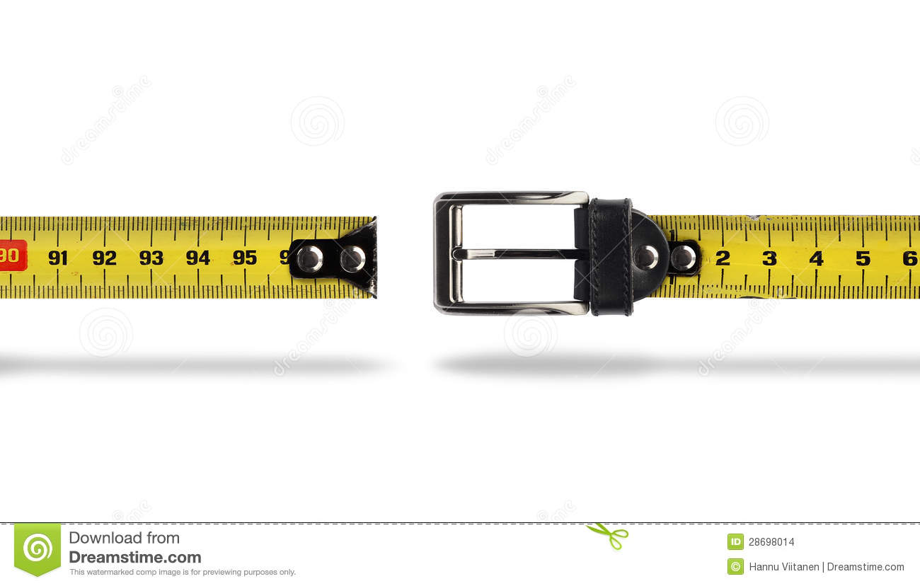 weight loss measure belt gap stock photo image of meter measure