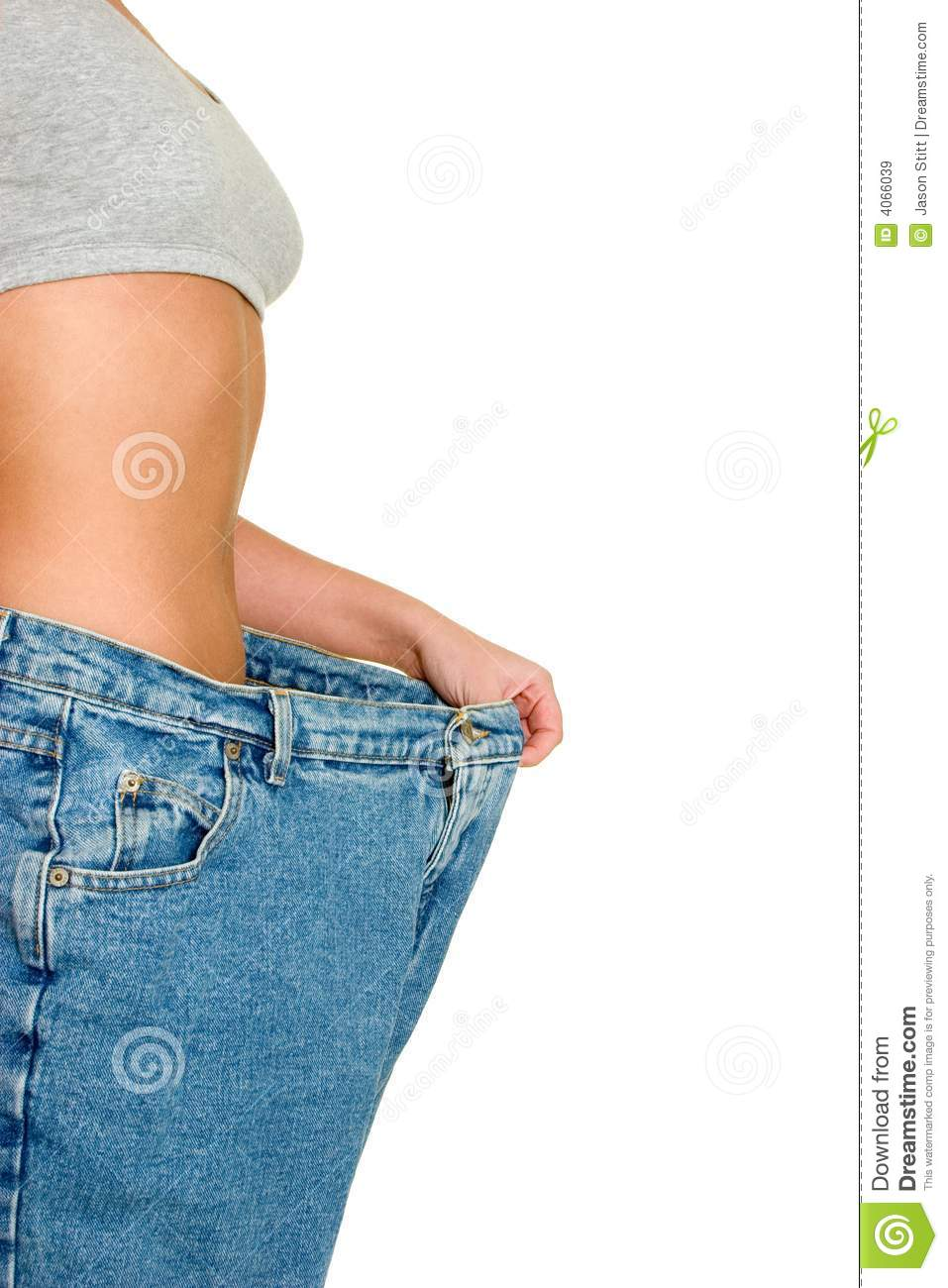 Weight Loss Pants Royalty Free Stock Images - Image: 4066039