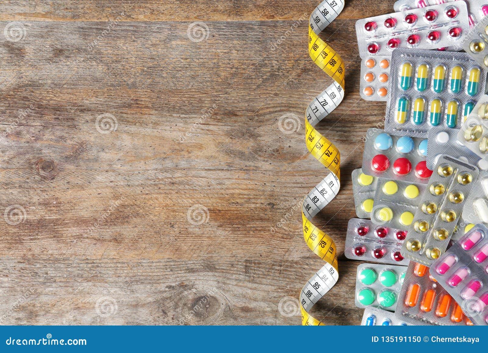 Weight loss pill packs