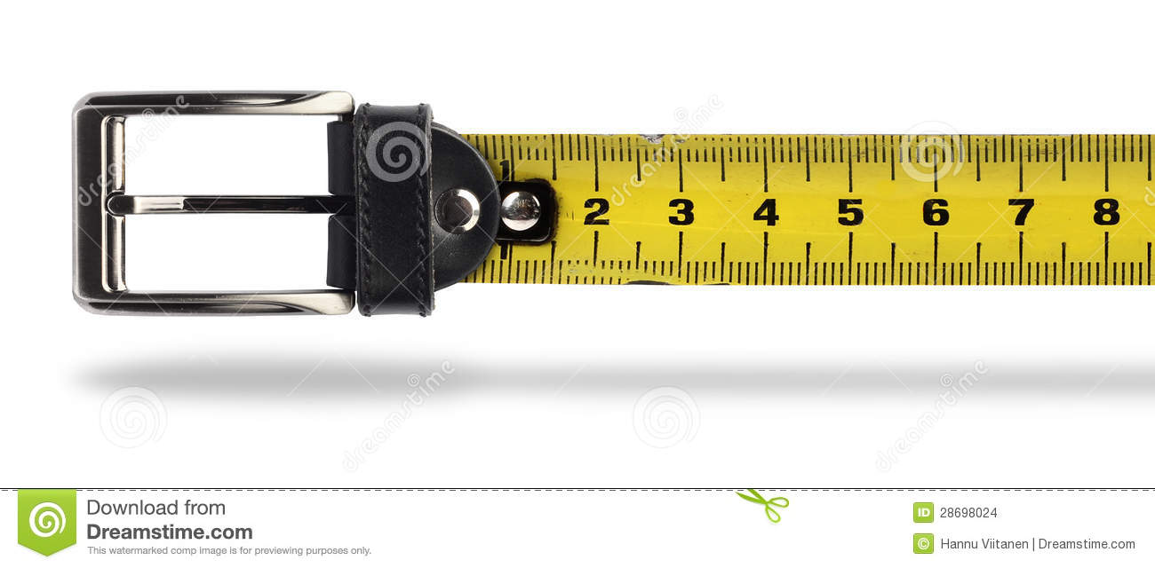 weight loss tape measure belt stock photo image of yellow closeup