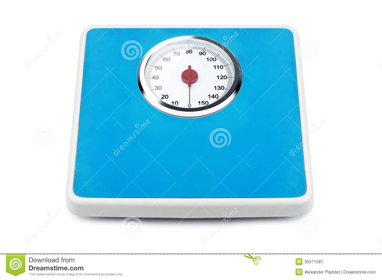 Weight Scale Stock Image Image 35571581