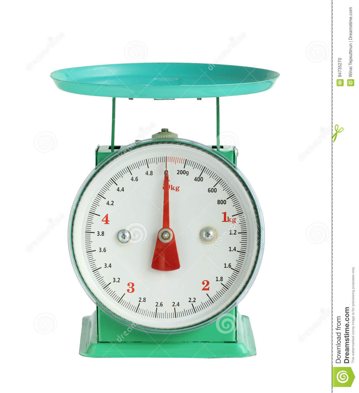 Weight scale stock photo  Image of weight, food, object