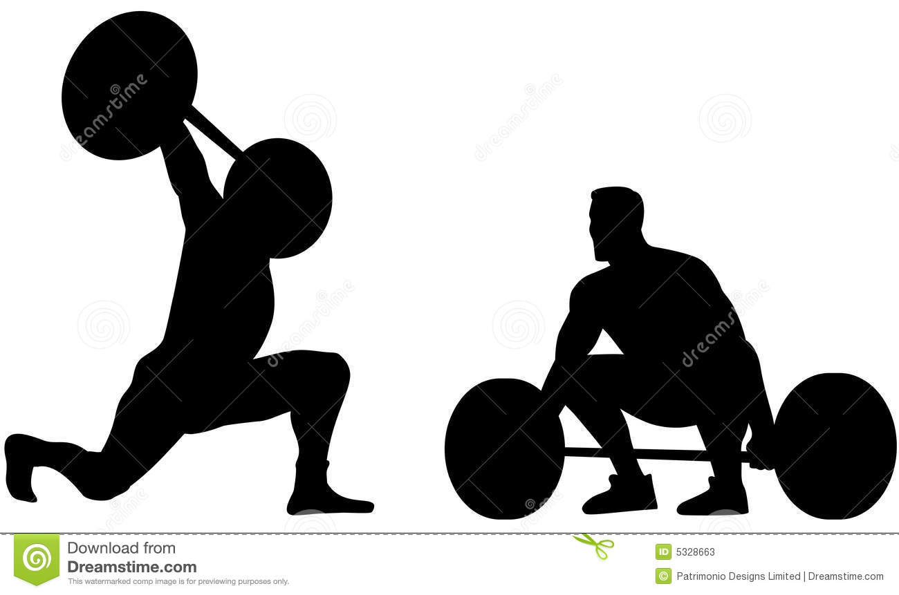 Weightlifter Stock Photos - Image: 5328663