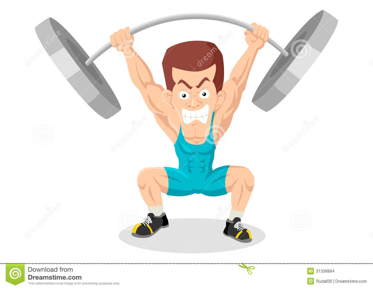 Weightlifter Stock Images - Image: 31339894