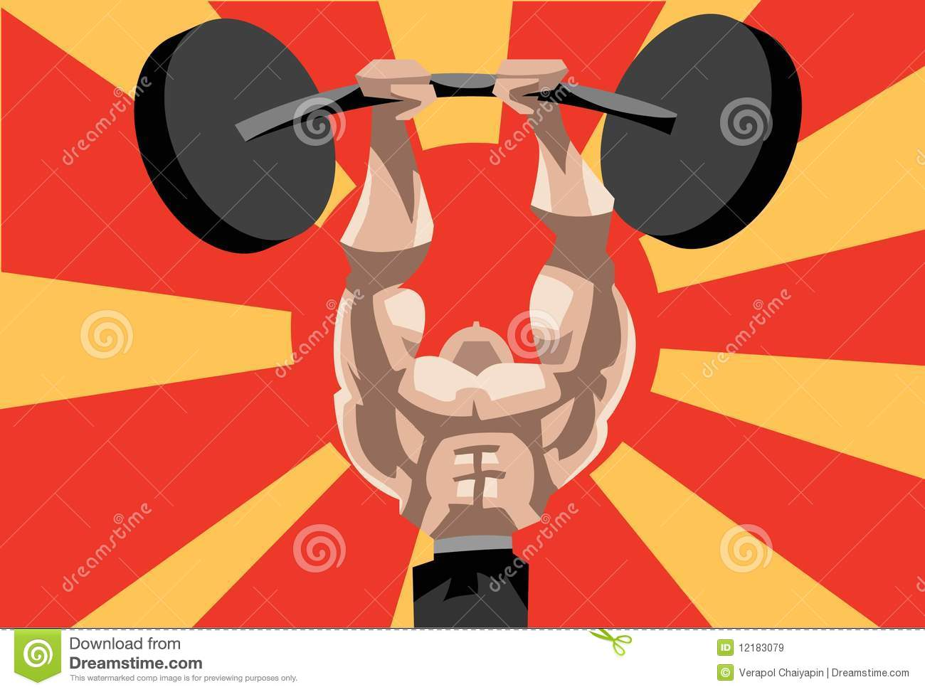 weightlifting stock images royalty free images vectors weightlifting is a herculean task royalty free stock