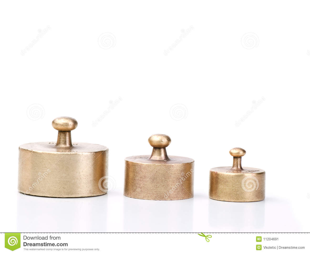 Weights for balance scale stock image. Image of white ...