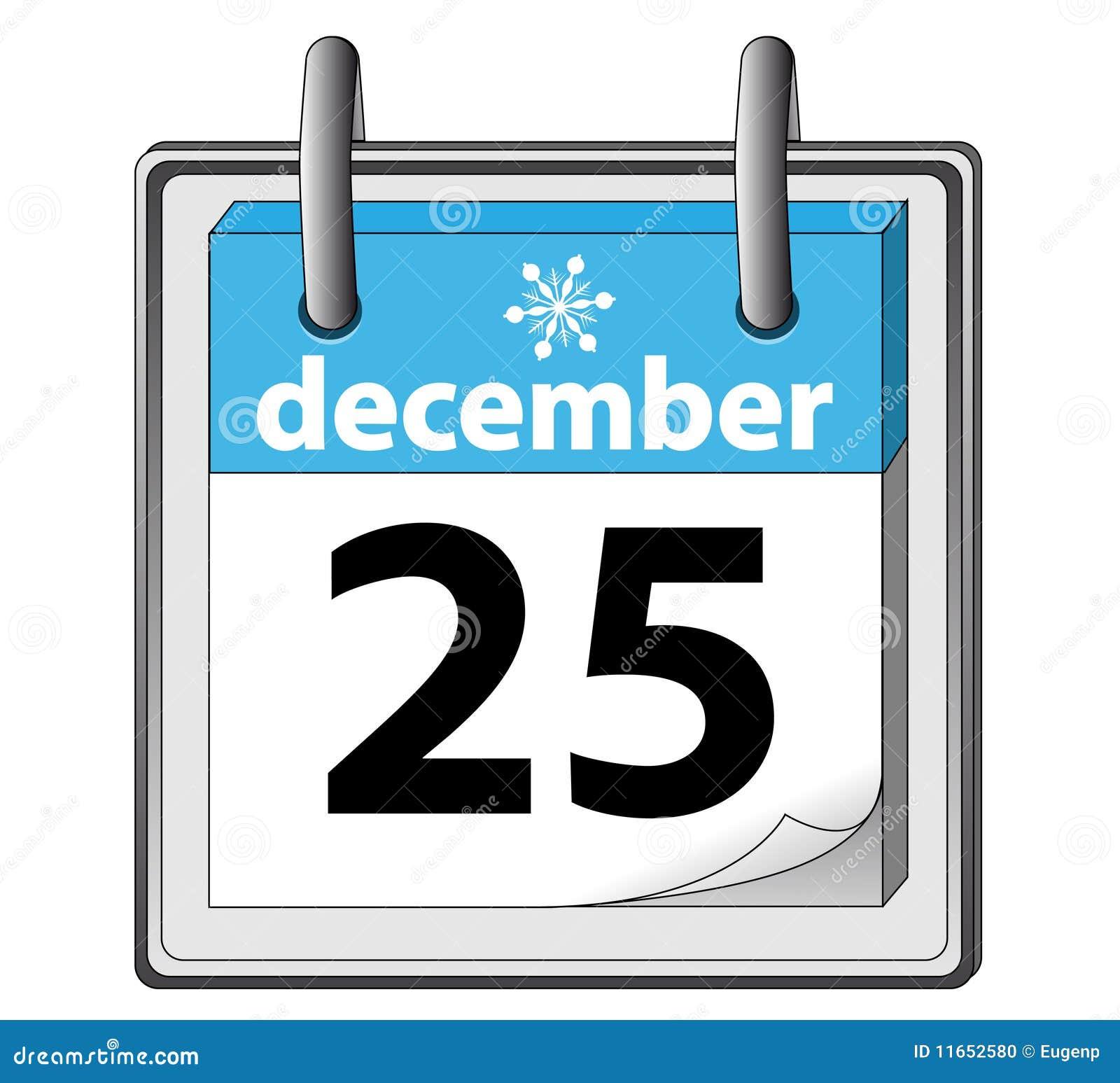 25 Dezember