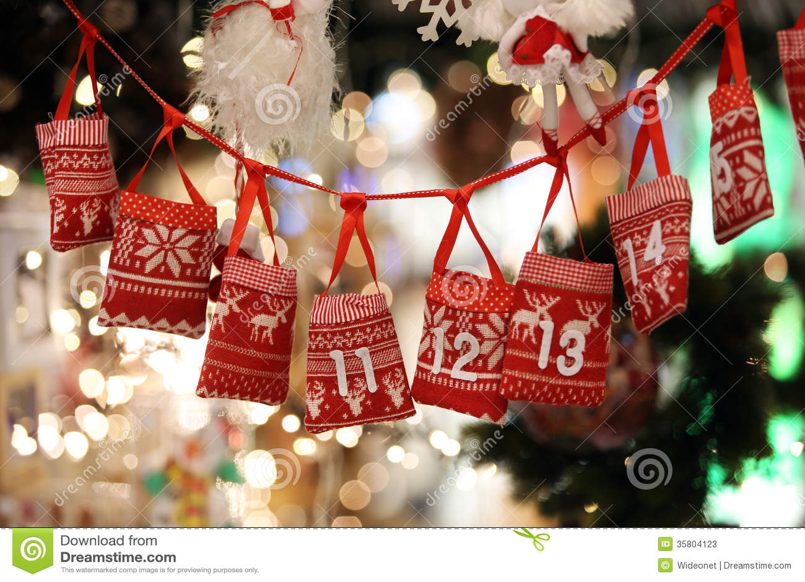 weihnachten advent calendar stockbild bild von feier. Black Bedroom Furniture Sets. Home Design Ideas