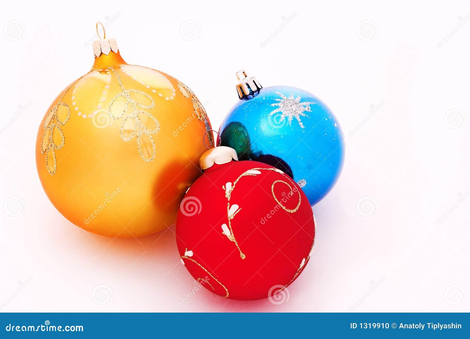 weihnachten baum dekorationkugeln stockfoto bild 1319910. Black Bedroom Furniture Sets. Home Design Ideas