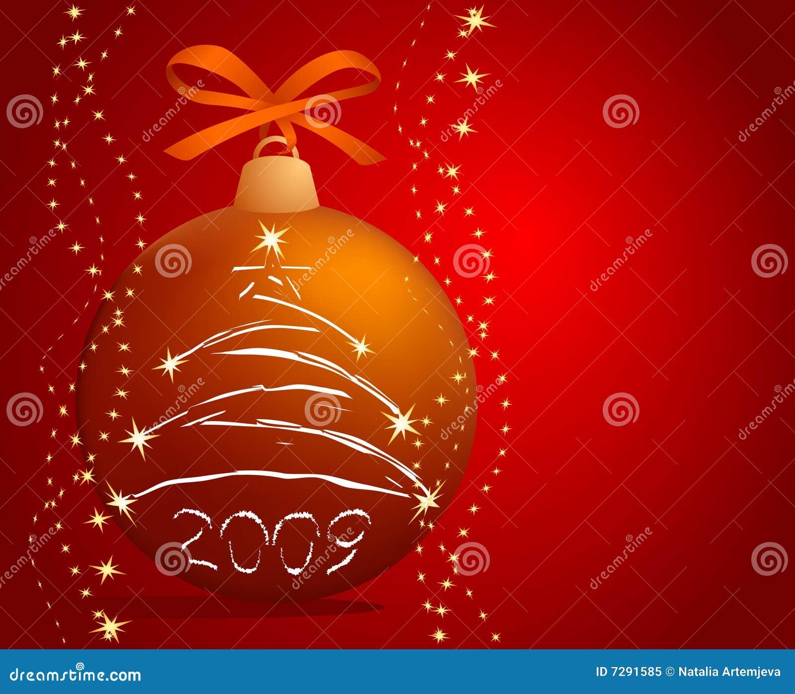 Weihnachten-Baum Kugel
