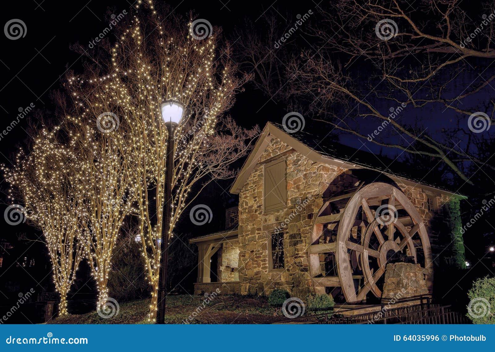 Weihnachten Bei Altem Evans Farm, McLean, Virginia Redaktionelles ...