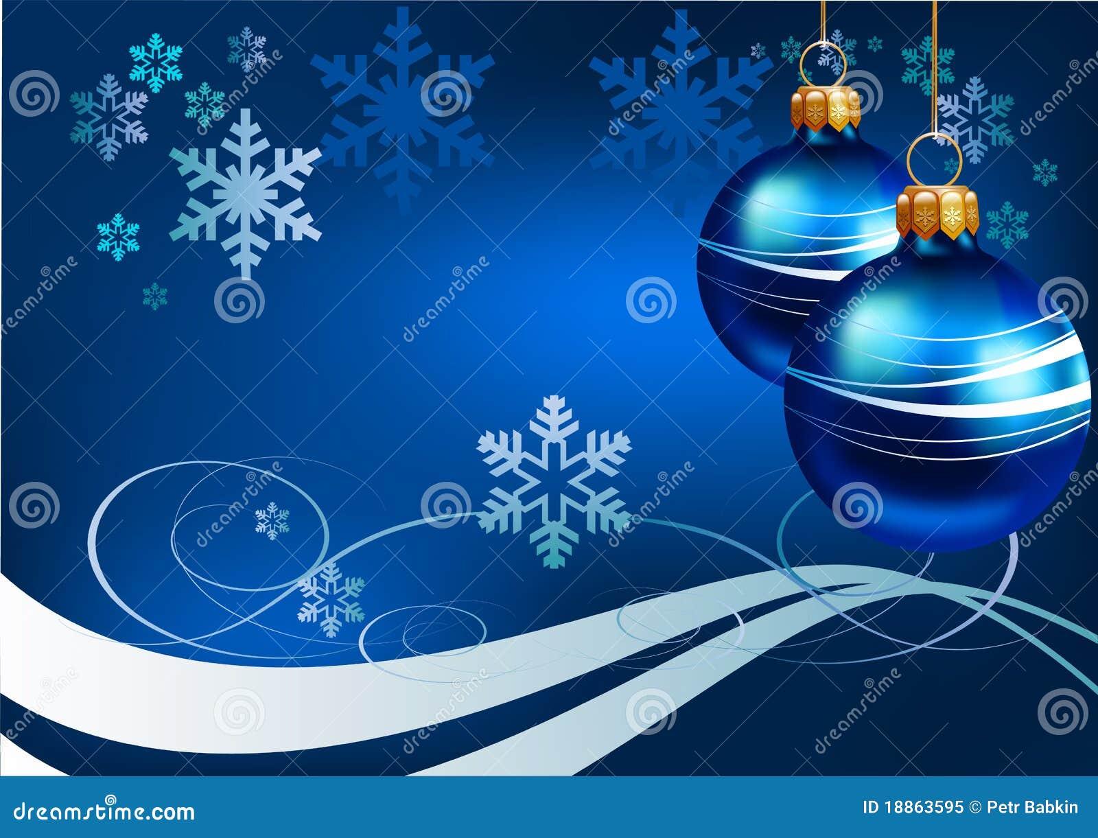 weihnachten blauer hintergrund vektor abbildung bild. Black Bedroom Furniture Sets. Home Design Ideas